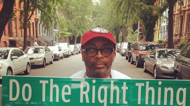 060514-celebs-spike-lee-brooklyn-street-do-the-right-thing
