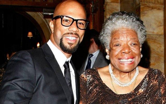Common and Maya Angelou