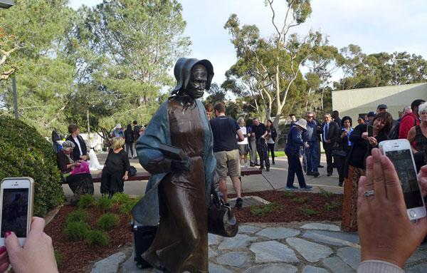 Sojourner Truth Statue at UCSD