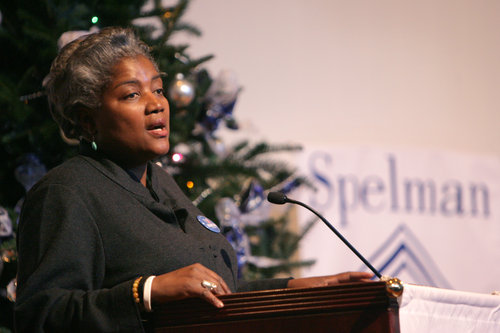 Political activist Donna Brazile  (Photo: LOUIE FAVORITE)