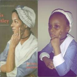 Ava as poet Phillis Wheatley