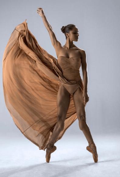 Prima Ballerina Misty Copeland (Photo via livetalksla.com)