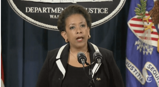 Attorney General Loretta Lynch  (photo: nytimes.com)