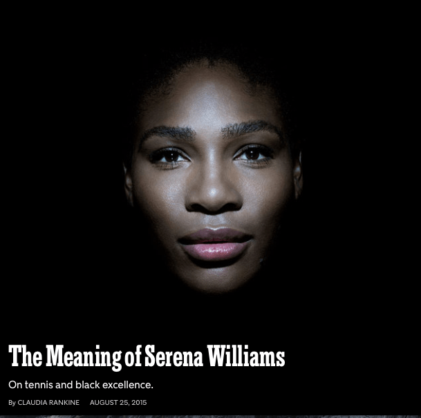 Serena Williams cover
