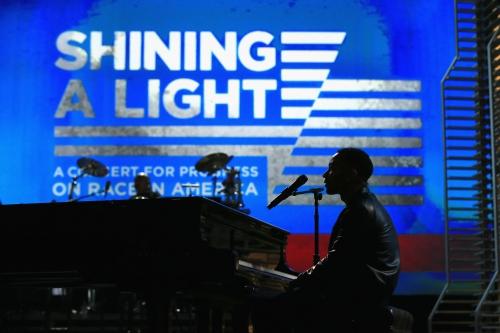"""John Legend at """"Shining A Light"""" Concert"""