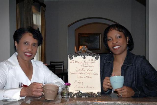 La Maison owners Genora Boykins and Sharon Owens (photo via theempowermag.com)