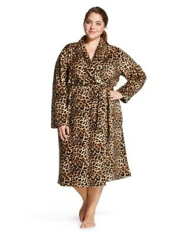 Women's Plus Size Cozy Robe - Gilligan & O'Malley®