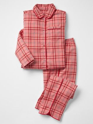 Printed classic PJ set - The Gap