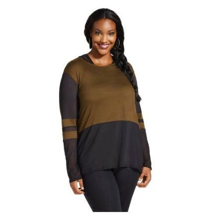 Plus Size Long Sleeve Knit Top - Lily Star