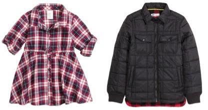 girls flannel boys jacket