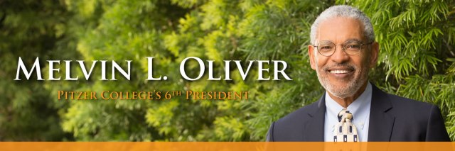 Melvin L. Oliver was named president of Pitzer College. He will take office July 1. (photo via pitzer.edu)