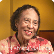Civil Rights activist Frances Hooks (photo via thehistorymakers.com)