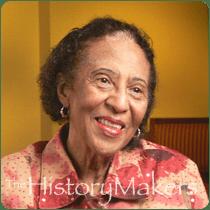 Civil Rights activist Frances Hooks (photo via thehistorymakers.com)