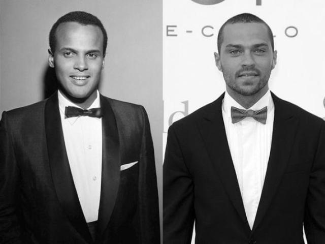 Harry Belafonte (l) and Jesse Williams (r) [photo via theroot.com]