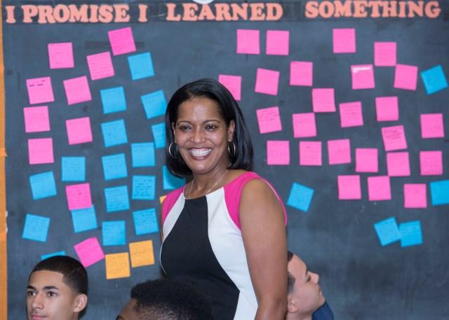 U.S. Teacher of the Year Jahana Hayes (photo via blogcea.com)