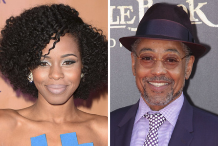 Danielle Truitt and Giancarlo Esposito