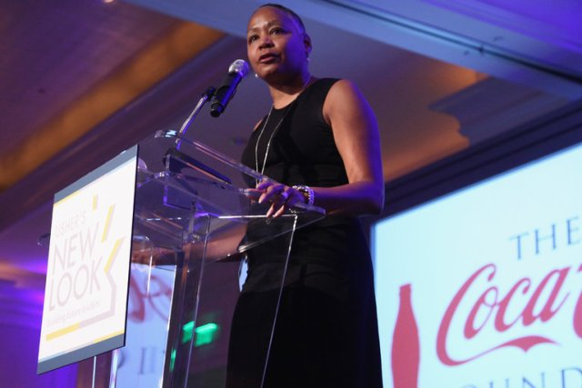 WNBA President Lisa Borders (photo via nytimes.com)