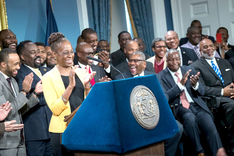 Nyc 1st Lady Chirlane Mccray Promotes Mental Health In Black