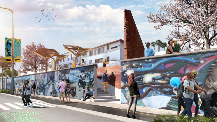 Crenshaw Boulevard to Break Ground on Mile-Long Artistic Tribute to Black History and Culture of Los Angeles