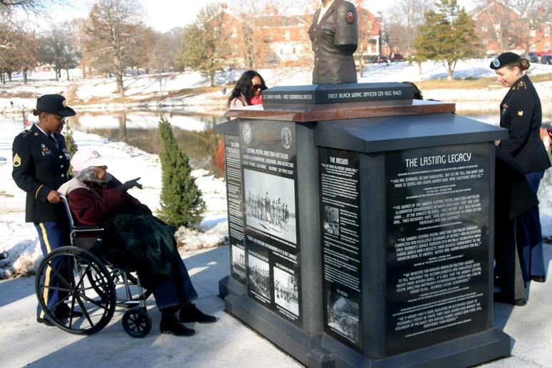 U.S. Armed Forces All-female African American WWII Unit Honored with Monument at Fort Leavenworth