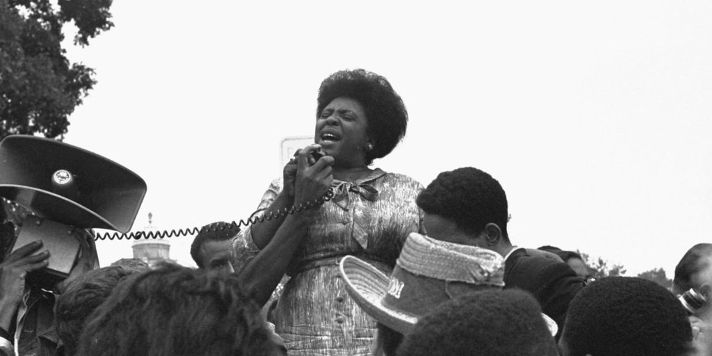 BHM: Good Black News Celebrates Fannie Lou Hamer, Sharecropper, Senate Candidate, Voting and Civil Rights Activist