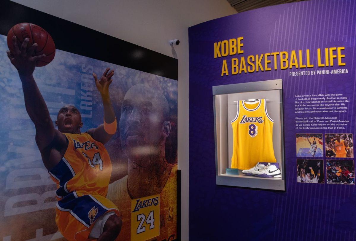 Basketball Hall of Fame Kobe Bryant Exhibit Design…