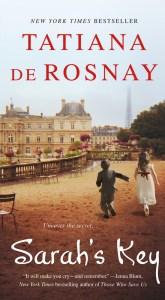 Sarah's KeybyTatiana De Rosnayis ahistorical fiction novelthat follows the interweaving stories of Sarah Starzynski and Julia Jaramond. Click for my review.