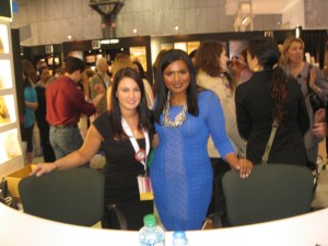 Meeting Mindy Kaling at BEA