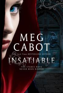 Insatiableby Meg Cabot is an engrossing, light read. I think this is a wonderful summer book, especially for those who still like vampires.