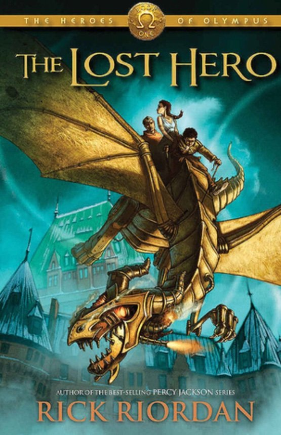 The Lost Hero by Rick Riordan Audiobook Review