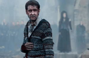 Neville Longbottom, Battle of Hogwarts, Bellatrix LeStrange