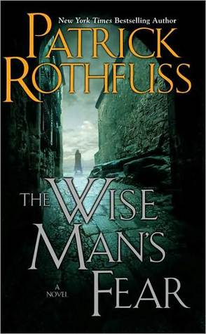 The Wise Man's Fear Patrick Rothfuss Book Cover