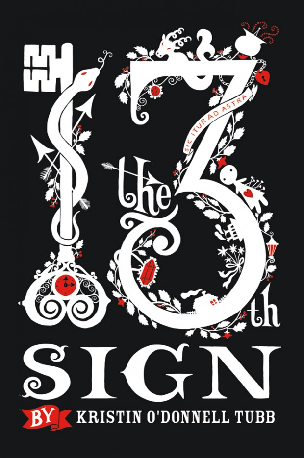 The 13th Sign Kristin O'Donnell Tubb Book Cover