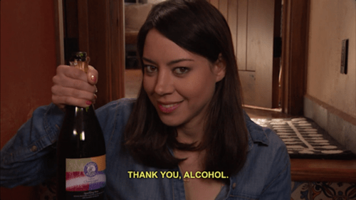 parks and rec alcohol