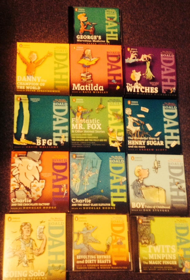 Roald Dahl audiobook collection
