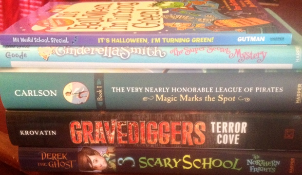 halloween middle grade books