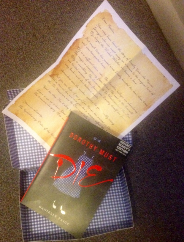 Dorothy Must Die by Danielle Paige ARC