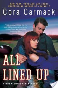 All Lined Up by Cora Carmack | Book Review