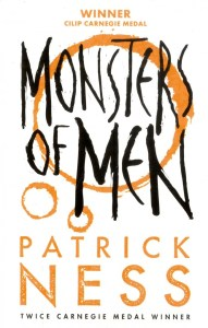 There is something special about the Chaos Walking series. These three books - The Knife Of Never Letting Go, The Ask And The Answer, and Monsters Of Men have this way of reaching inside you and revealing universal truths.
