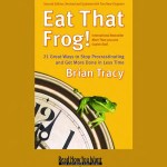 Eat That Frog is essentially about conquering your to do list and getting those tasks you've been putting off done to be a more productive person.