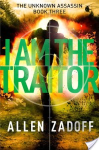 I Am The Traitor by Allen Zadoff | This book is so action packed and the perfect book for reluctant readers.
