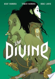 The Divine by Boaz Lavie art by Tomer Hanuka and Asaf Hanuka is a graphic novel that will really make you think.