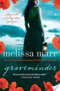 Graveminder by Melissa Marr is completely absorbing. I find myself utterly engaged by it.