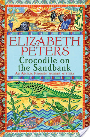 Retro Friday Review: Crocodile On The Sandbank by Elizabeth Peters