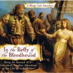 In The Belly Of The Bloodhound by L.A. Meyer is an audiobook that I listened to because I might as well be obsessed with Jacky Faber and Katherine Kellgren.