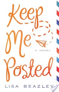 Keep Me Posted by Lisa Beazley | Book Review
