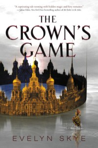 The Crown's Game by Evelyn Skye is wonderfully written and evokes Imperial Russia, magic and what I would love historical fantasy to be.