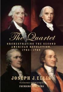 The Quartet: Orchestrating the Second American Revolution, 1783-1789 by Joseph J. Ellis | Audiobook Review