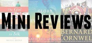 Audiobook reviews of The Girl Who Wrote In Silk by Kelli Estes, Glory Over Everything by Kathleen Grissom and Warriors Of The Storm by Bernard Cornwell.