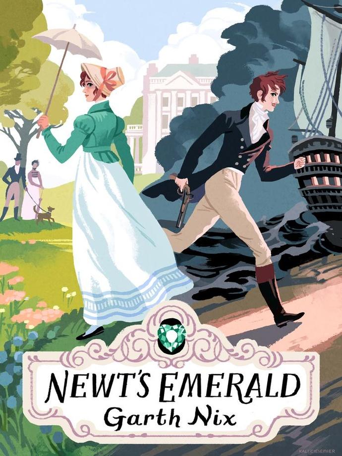 Newt's Emerald by Garth Nix   Audiobook Review